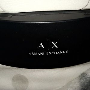 Authentic Armani sunglass case